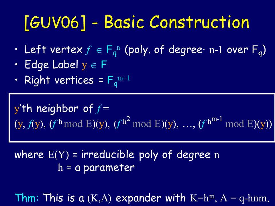 [GUV06] - Basic Construction
